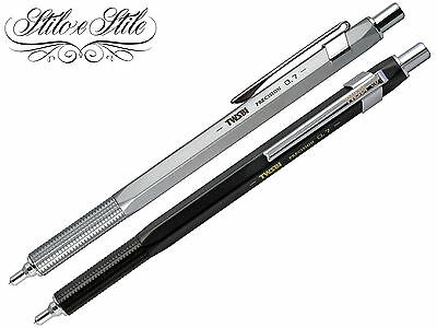 Twsbi Precision RT | Portamine Twsbi Silver o Black | Mechanical Pencil 0,5 0,7