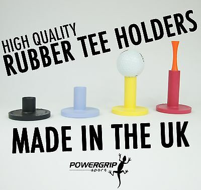 Assorted Set Of High Impact Resistant Rubber Golf Tee Holders For Driving Range