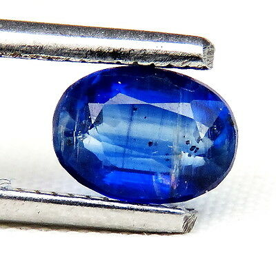 TOP ROYAL BLUE KYANITE : 1,10 Ct Natürlicher Blau kyanit / Disthene , Rhaeticite