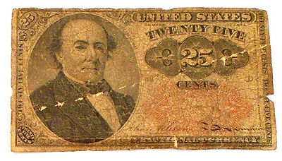 Twenty Five Cent Fractional Currency 1874