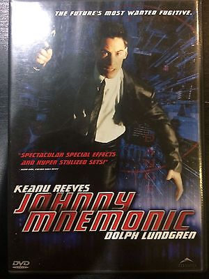 """Keanu Reeves & Ice T In """"Johnny Mnemonic"""" On DVD (Previously Viewed)"""