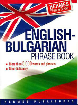 English-Bulgarian Phrase Book Classified With English Index and Pronunciation