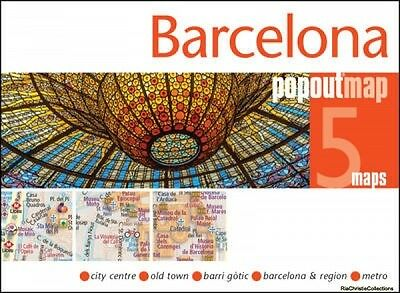 Barcelona Popout Map 9781910218419 PopOut Maps Sheet map folded New Book Free UK