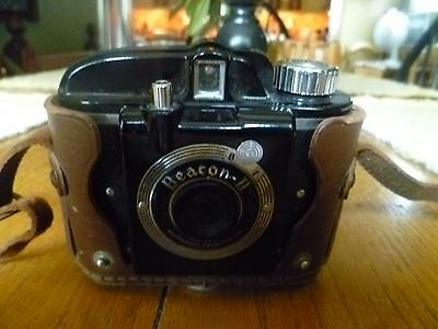 Beacon II 127 Film Camera Vintage with case & strap