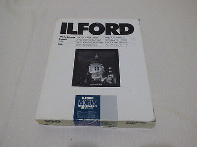 Ilford Multigrade IV RC Deluxe Resin Coated VC Paper, 8x10