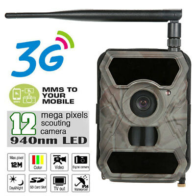 3G MMS GPRS Scouting Game Farm Security Cam Hunting Camera WildGuarder WG-890WG