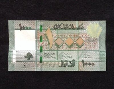 Lebanon UNC 1000 Livres 2011 Banknote World Currency Paper Money