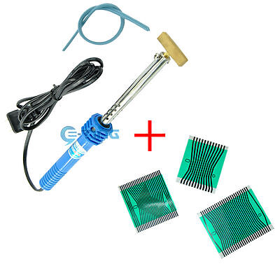 LCD Pixel Ribbon Cable & T-Iron Soldering Welding Tool For Benz W210 W202 95-02