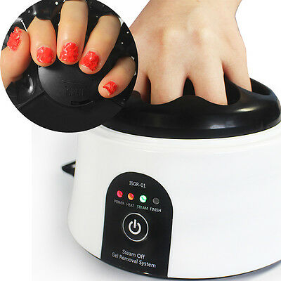 Nail Gel Polish Remover Tool - Steam off Gel System Removal Machine Nail Steamer