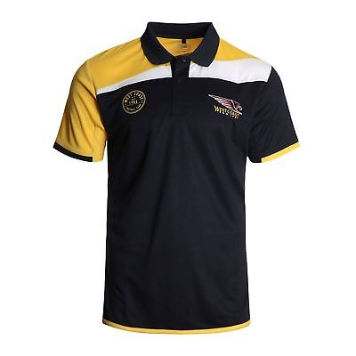 New 2017 West Coast Eagles AFL Football Mens Premium Polo Shirt Size S-5XL BNWT