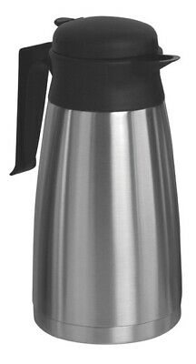 Newco 109357 1.6L Vaculator Thermal Carafe - Stainless Steel **NEW**