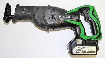 Hitachi Cordless Reciprocal Saw CR18DSL With 18V Battery & Charger #761542