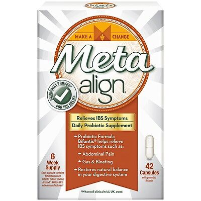 Meta Align Daily Probiotics Supplements 42 capsules | Relief IBS Symptoms