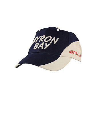 Embroidered Byron Bay Cap
