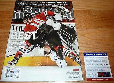 Psa/dna Marcus Kruger Autographed-Signed 6-10-2013 Sports Illustrated Ac16199