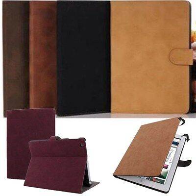 Luxury PU Leather Stand Case Cover for iPad 2 3 4 iPad Mini Air iPad Pro Gift
