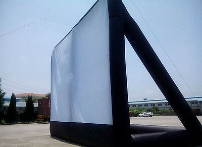 5*3m Giant Inflatable Movie Screen, Outdoor Inflatable Screen Brand New  U
