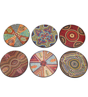 Jukurrpa Aboriginal Coaster Set