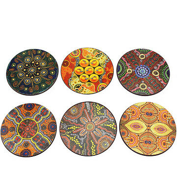 Keringke Aboriginal Coaster Set