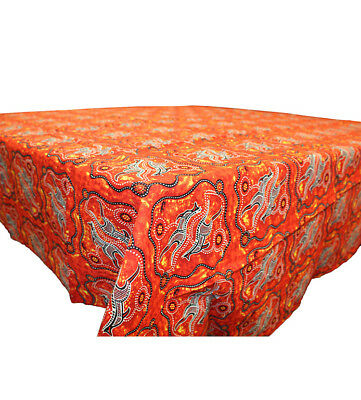 Red Roo Table Cloth