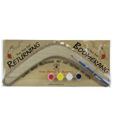 Paint Your Own Boomerang