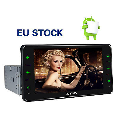 JOYING Android 6.0 Stereo Single 1 Din Quad Core Head Unit with 1GB RAM GPS Navi