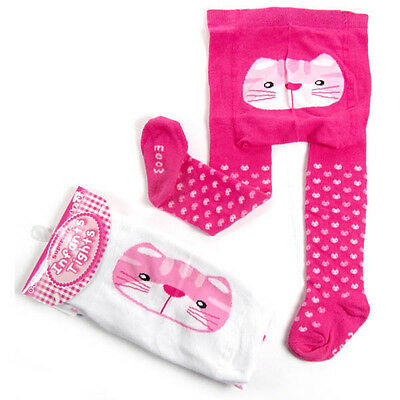 Brand New Baby White / Pink Tights 0-6 Months 6-12 Months 12-18 Months
