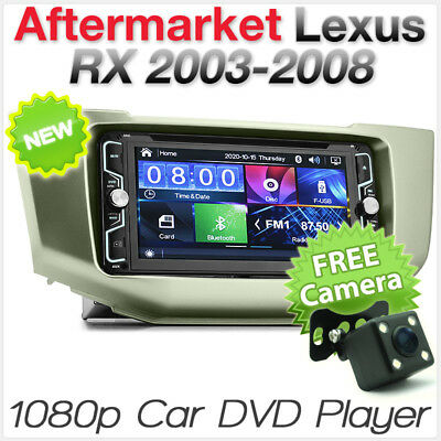 Car DVD MP3 Player Radio Stereo For Toyota Harrier ACU30 Lexus RX300 350 MP4 CD