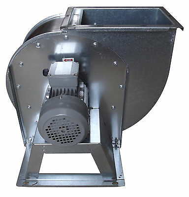 Centrifugal industrial duct extractor fan, blower, 1400 RPM, 5000 m3/h; 230 V