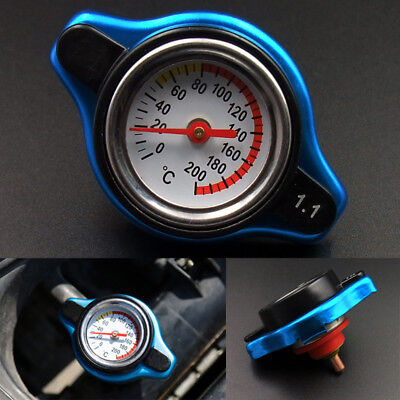 Universal 1.1 Bar Thermo Thermostatic Radiator Cap Cover Water Temperature Gauge