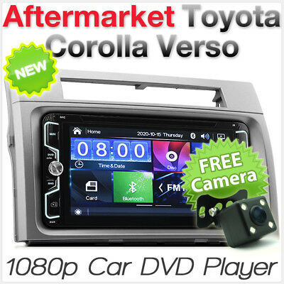 Toyota Corolla Verso Car DVD MP3 Player Head Unit Radio Stereo Fascia Kit MP4 CD