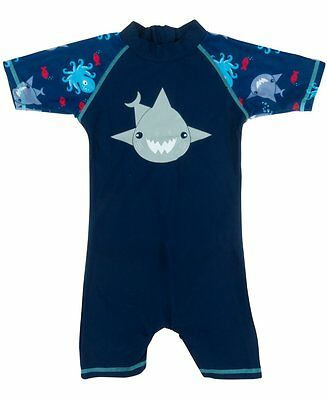 Banz Baby and Kids UV All in One   Shark   Navy