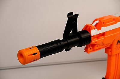 Muzzle Break Barrel Extension with Sight Tower for Nerf® Gun