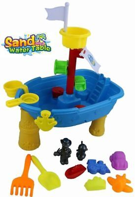 Childrens Kids Toddler Sand and Water Play Table Activity Sandpit  Gift UK
