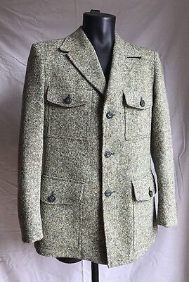 "Vintage Men's St Michael Blazer/Jacket Size 39-40"" Medium 100% Pure New Wool"