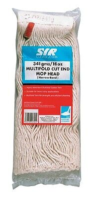 Kentucky Hygiene Mop Head - Red - 16oz 191290R CLEENOL