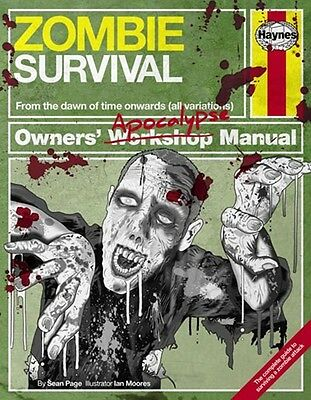 Science Fiction Manual - Zombie Survival H5473 HAYNES