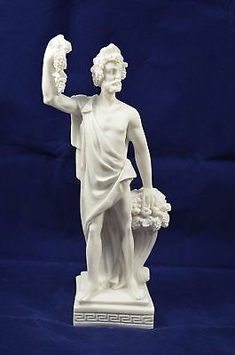 Dionysus sculpture ancient Greek God of wine and extacy alabaster artifact