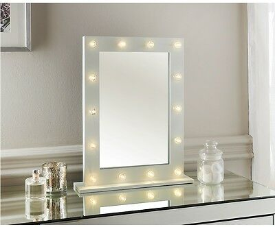 New Elegant Hollywood Style Dressing Table Mirror with LED lights