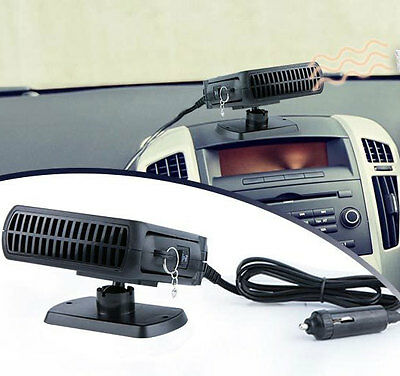 12V 150W Portable Car Van Heater/Defroster/Cooler Demister Ice Snow Summer Cool