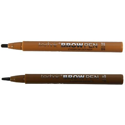 Technic Brow Pen Definer Eyebrow Liner Felt Tip Style Pencil Brown
