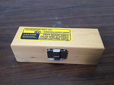 IEC Microtome Knife 3257 Brand New Never used