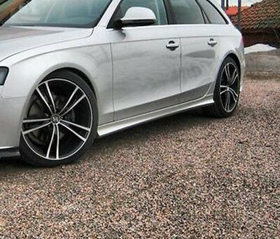 Audi A4 B8 - Side skirts 2008-2015 Saloon/Estate