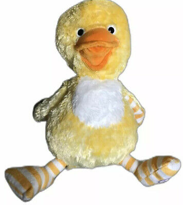 Hallmark Totally Ticklish Duck Singing Laughing Animated Plush Sound Motion Toy