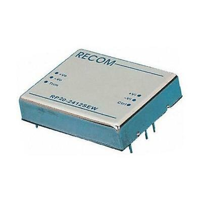 1 x Recom RP20-2405SEW, Vout 5V dc Isolated DC-DC Converter, Vin 9-36V dc