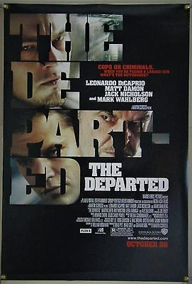 The Departed Ds Rolled Orig 1Sh Movie Poster Martin Scorsese Dicaprio (2006)