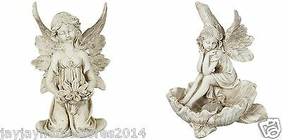 Large Sitting Fairy with Ornament statues Garden indoor and outdoor use