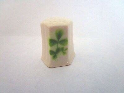 Shamrock Thimble with Celtic Cross on inside