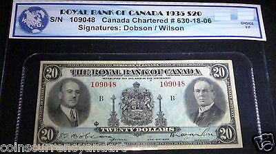 1935 $20 Royal Bank of Canada