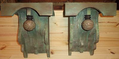 "Large Decorative 1880's  Victorian Style  Corbels   "" Summer Porch """